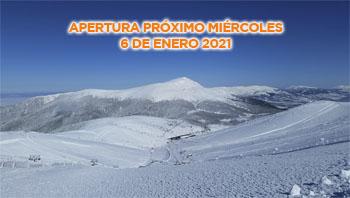 APERTURA MIÉRCOLES 6 DE ENERO DE 2021