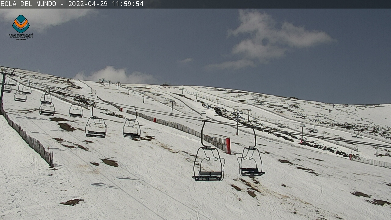 Valdesqui.es - Webcam - Bola del mundo