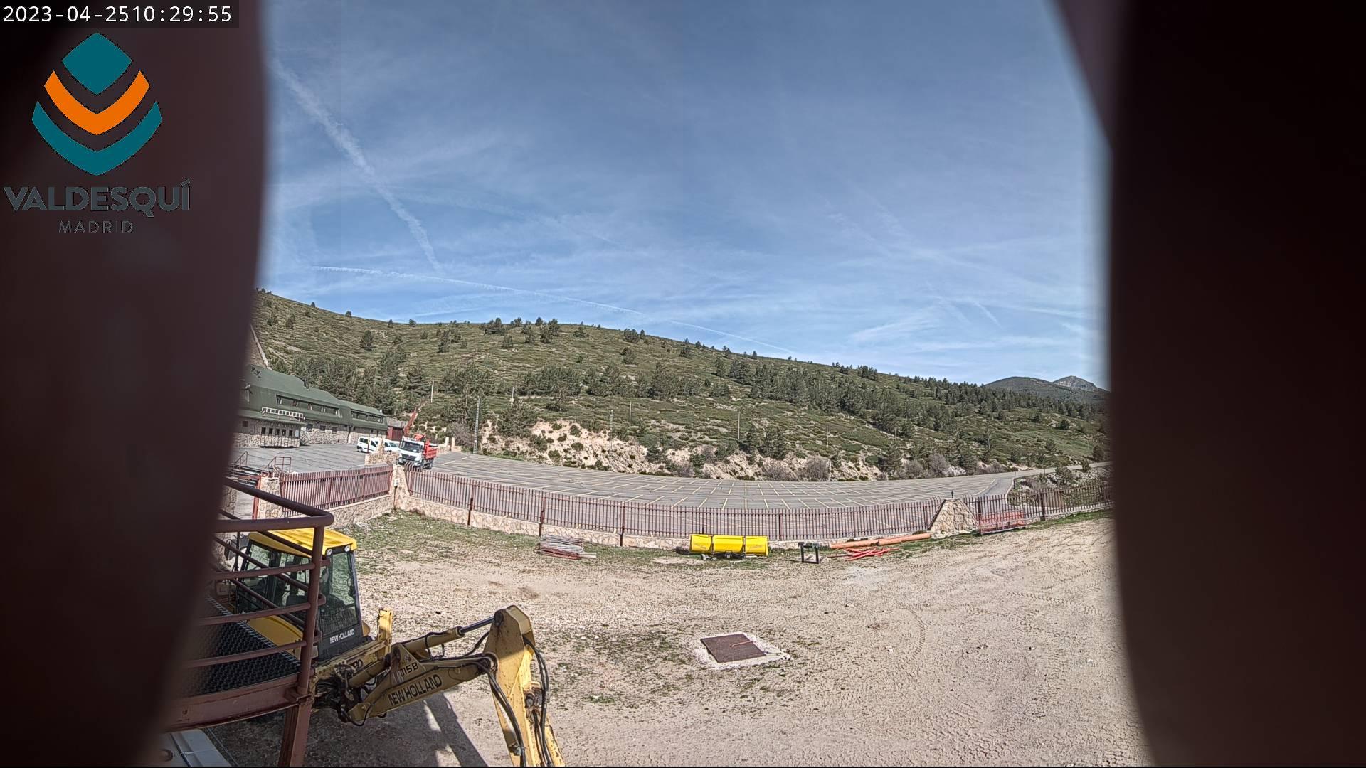Valdesqui.es - Webcam - Aparcamiento